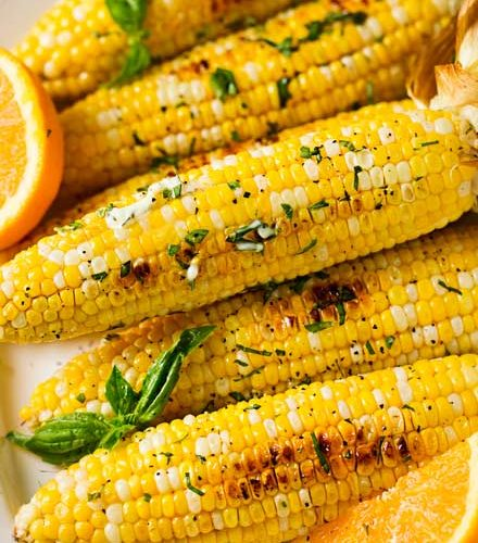 Fail Proof Roasted Corn On The Cob Family Favorite The Chunky Chef