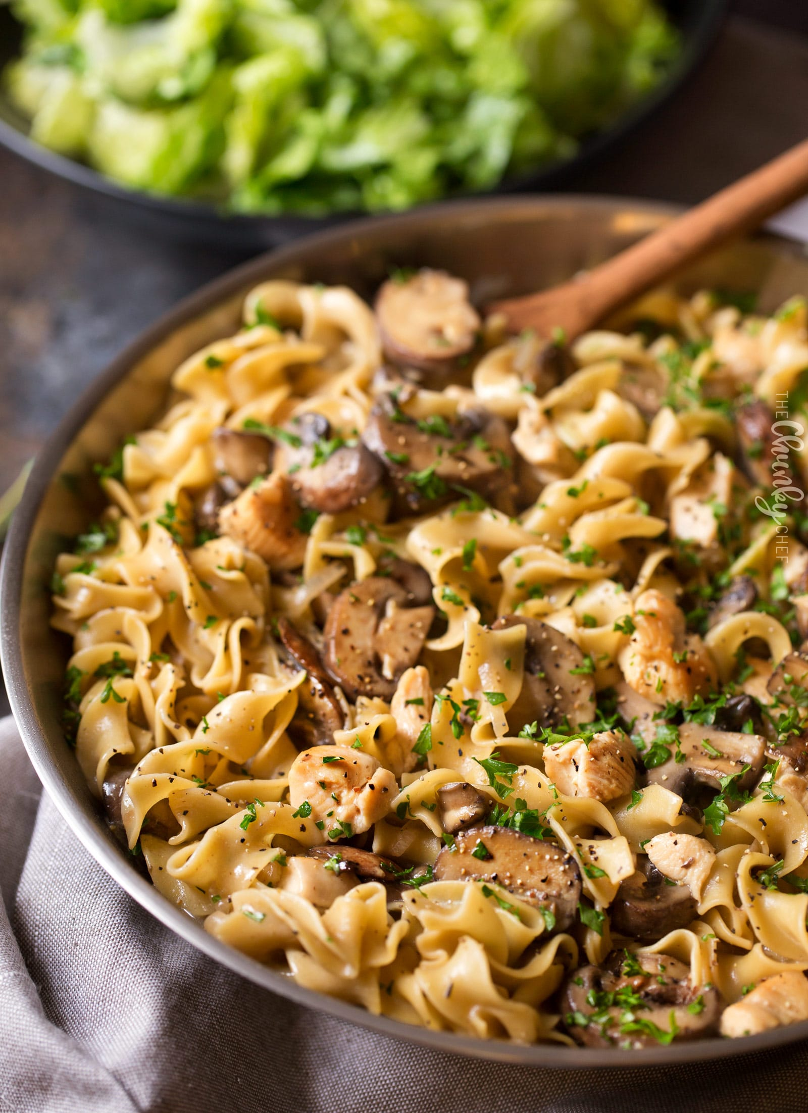 hearty one pot chicken stroganoff - the chunky chef