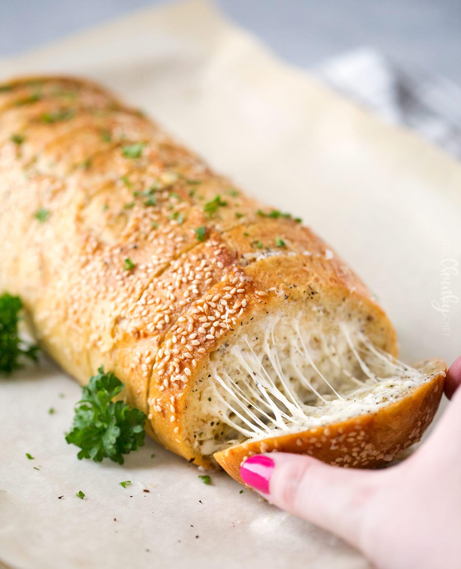 garlic bread recipe bread machine
