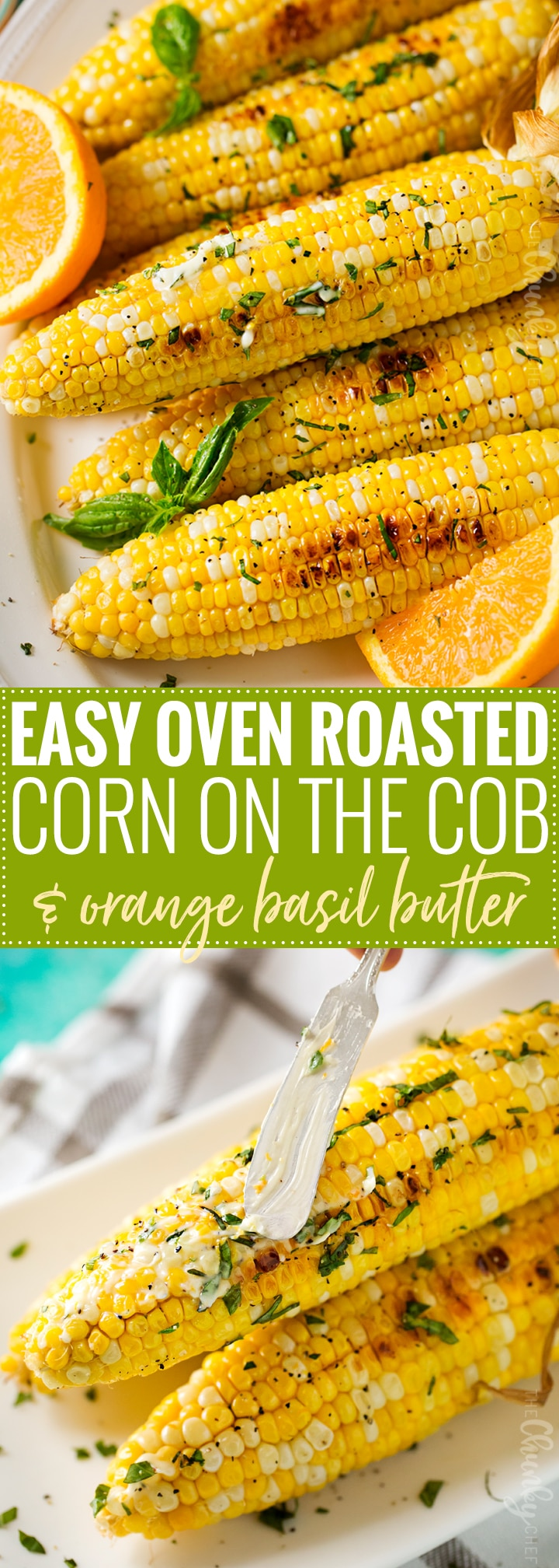 Oven Roasted Corn on the Cob   This foolproof method for cooking corn on the cob is easy, perfect for any kind of weather, and produces the juiciest, perfectly cooked ears of corn ever!   http://thechunkychef.com