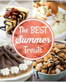 The Best Summer Treats | When the heat is stifling in the summer, reach for one of these fantastic summer treats to satisfy any sweet tooth in fantastic summer style! | http://thechunkychef.com