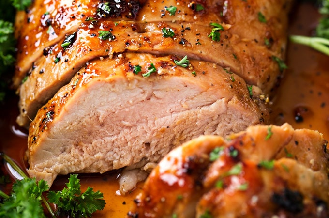 oven roasted pork tenderloin honey roasted pork tenderloin the chunky chef 12181