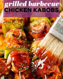 pinterest image for chicken kabobs