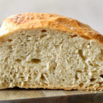 Homemade Artisan No Knead Bread