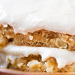 Maple Apple Blondie Recipe
