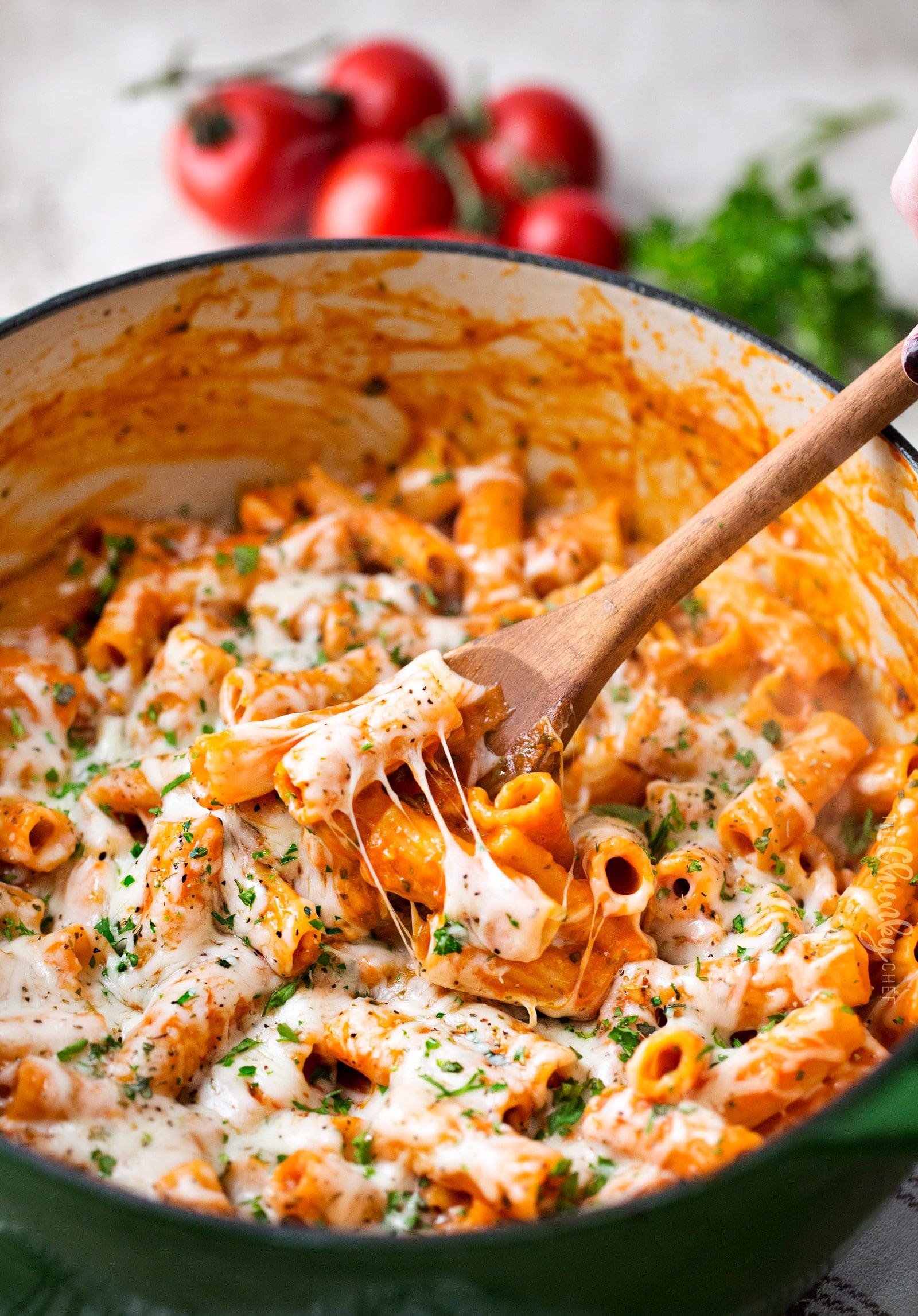 One-Pot Garlic Parmesan Pasta