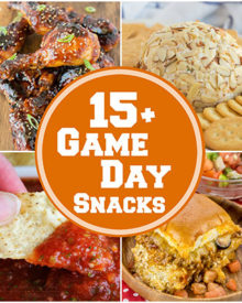 Mouthwatering Game Day Snacks | Whether you're having a big party, or watching the game with family, you'll want some awesome game day snacks! | #game #party #appetizers