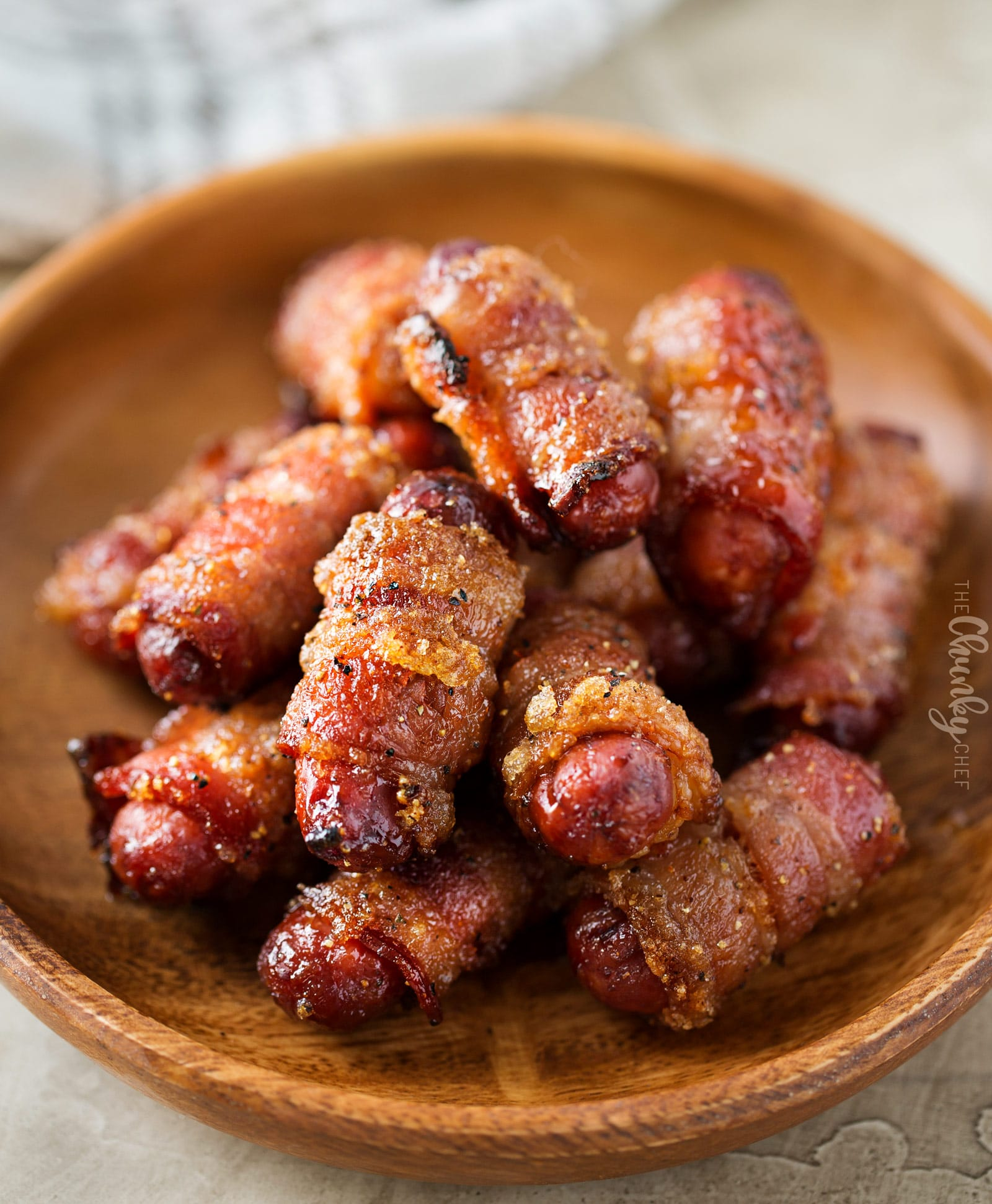 How to make little smokies wrapped in bacon with brown sugar