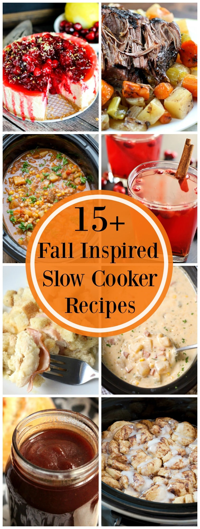 When the weather cools down, it's the time to break out your slow cooker! This slow cooker recipe collection has everything you're looking for!