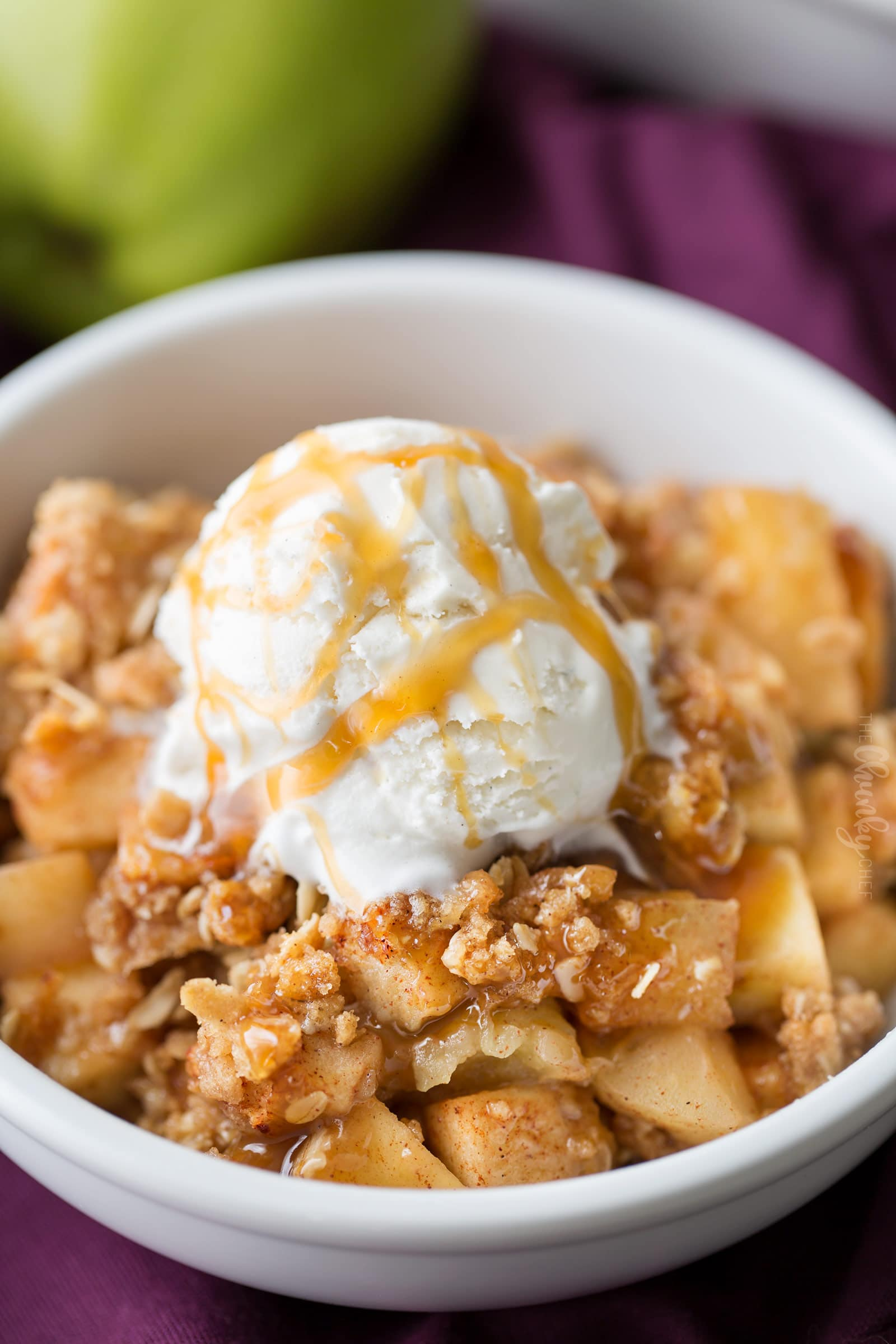 Apple Crisp with Oat Topping Recipe - m 43