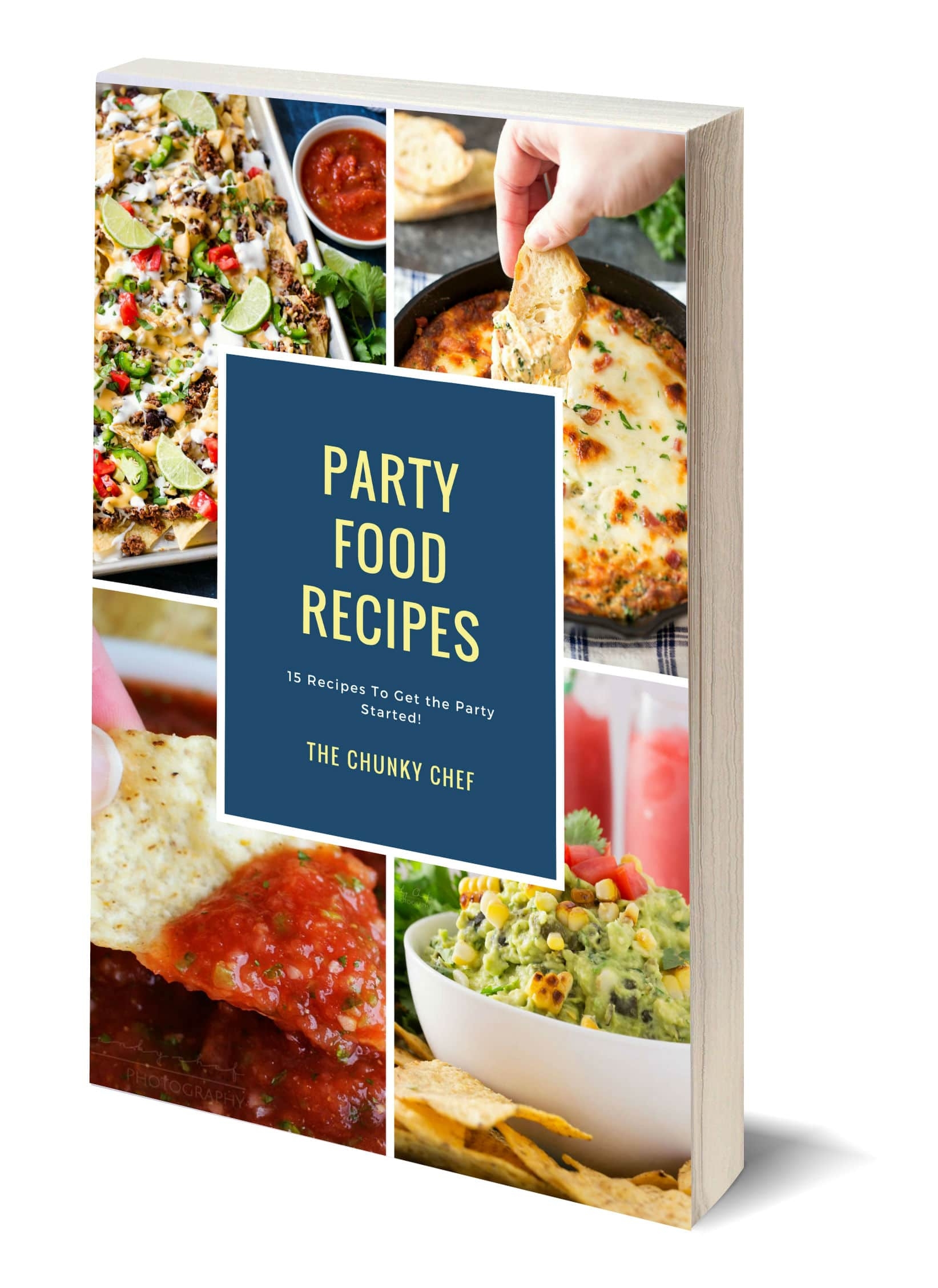 E cookbooks the chunky chef this collection of party foods and appetizers is just what you need the most pinned and best reviewed appetizers are all here in one place forumfinder Choice Image