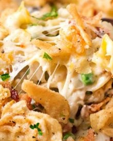 Loaded Cheesy Chicken Noodle Casserole