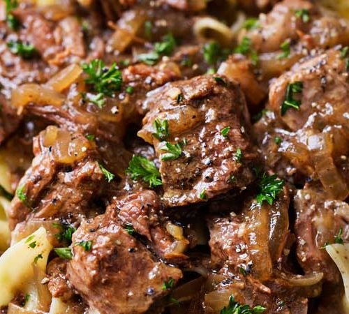 Drunken slow cooker beef stew beef carbonnade the chunky chef forumfinder Choice Image