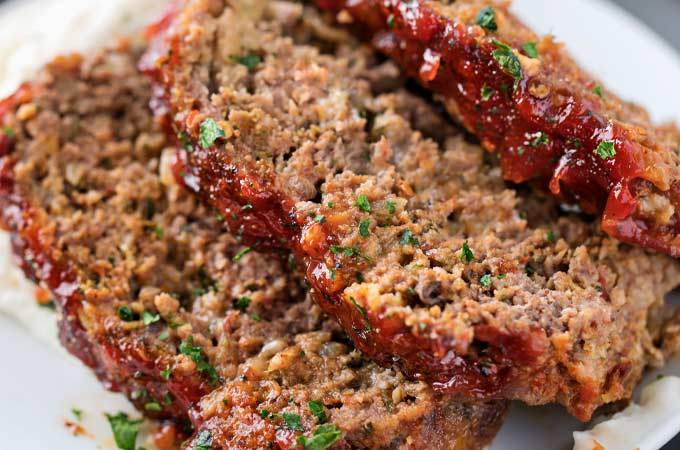 Glazed Chipotle Meatloaf Recipe The Chunky Chef