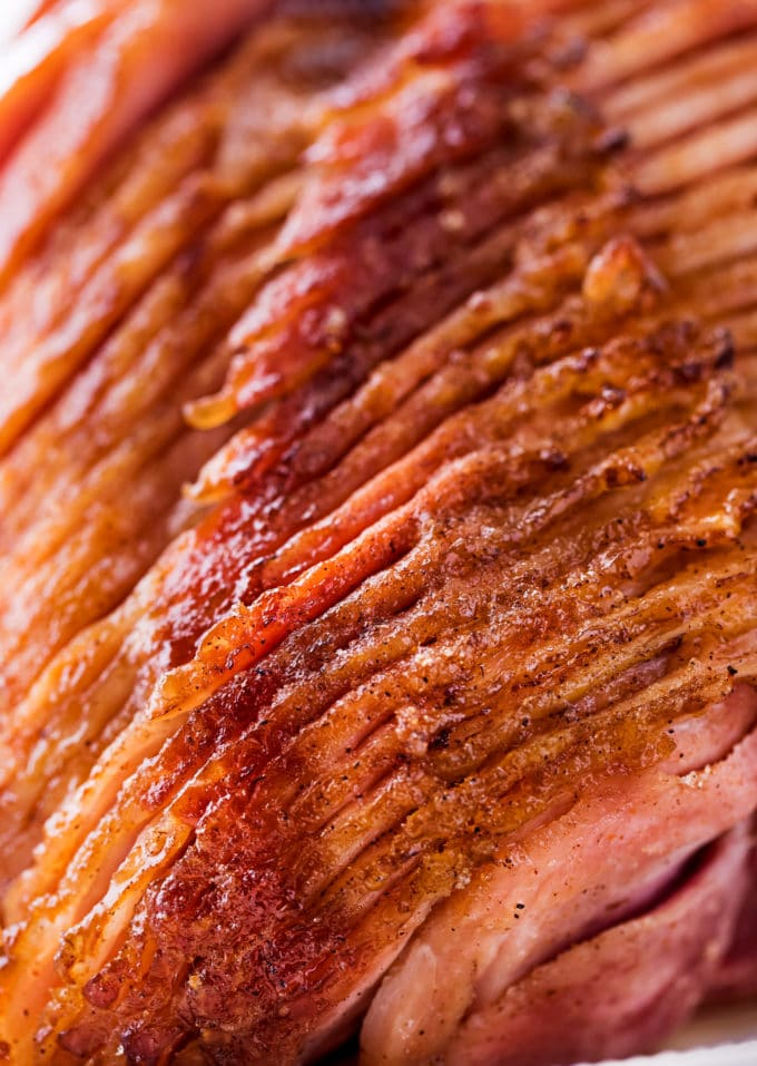 spiral sliced ham with glaze