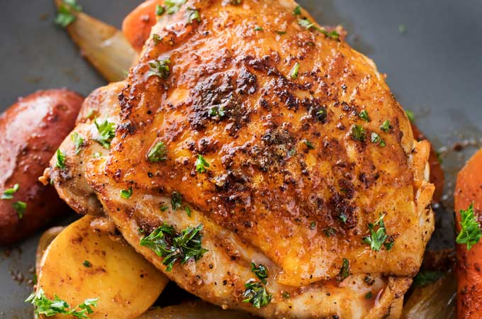 Slow Cooker Harissa Chicken The Chunky Chef