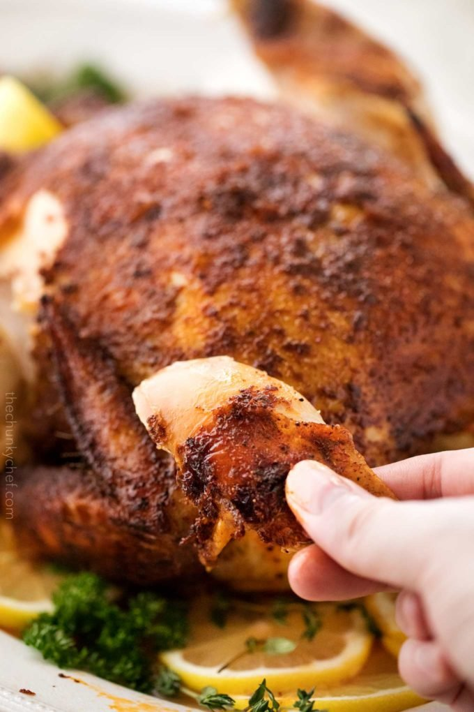 Easy Slow Cooker Rotisserie Chicken The Chunky Chef
