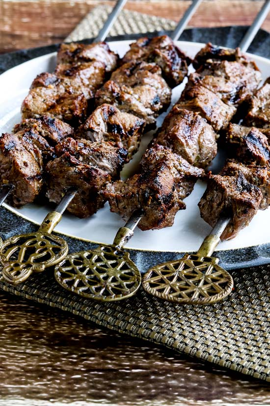 Marinated Beef Kabobs
