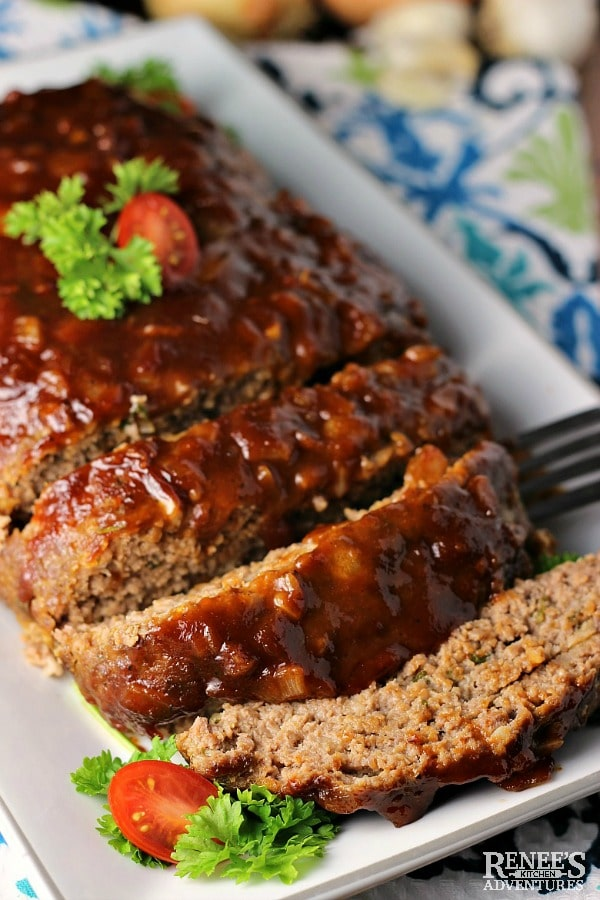 Best BBQ meatloaf