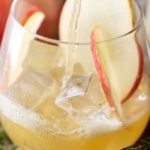 These apple bourbon cocktails are incredibly refreshing and a great mix of sweet with a bit of tartness. Take advantage of those Fall apples! #bourbon #cocktailrecipe #cocktails #applecider #honeycrisp #maplesyrup #falldrink #alcohol #fall