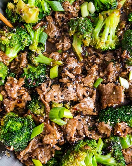 Chinese Takeout Style Beef And Broccoli The Chunky Chef