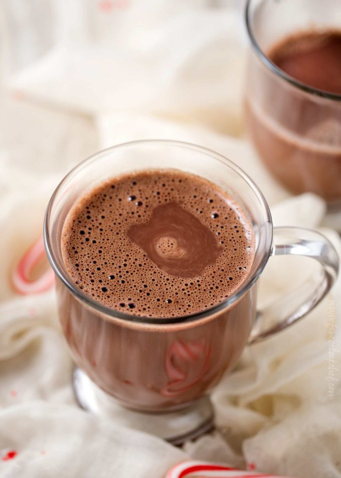 Mexican hot chocolate with no whipped cream