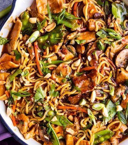 Garlic Ginger Pork Stir Fry The Chunky Chef