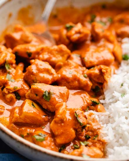 Slow Cooker Chicken Tikka Masala So Easy The Chunky Chef
