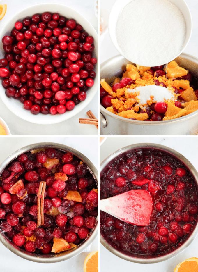 How to make homemade cranberry sauce