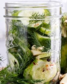 featured image for refrigerator pickles