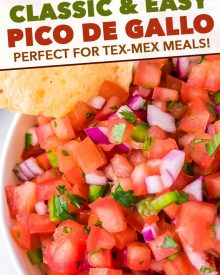 pin image for pico de gallo