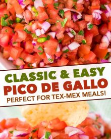 another pin image for pico de gallo