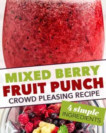 pinterest image for fruit punch