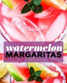 pin image for watermelon margaritas