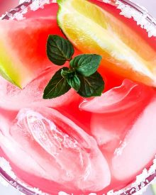 featured image for watermelon margaritas
