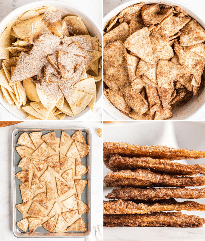how to make cinnamon chips