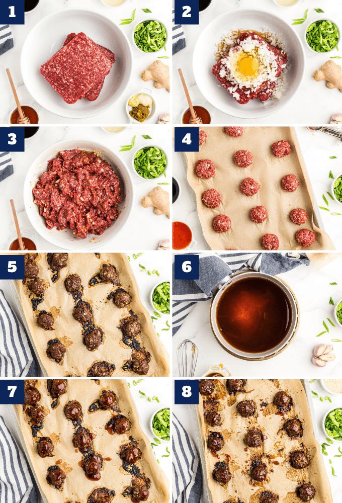 how to make thai meatballs