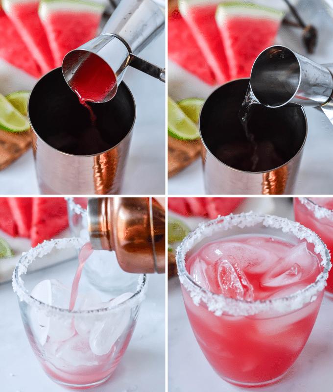 how to make watermelon margaritas