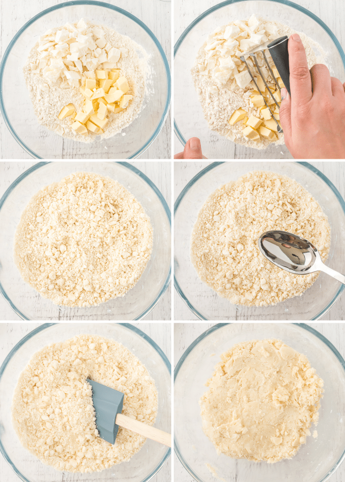 making pie dough step by step