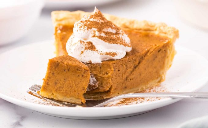 forkful of pie