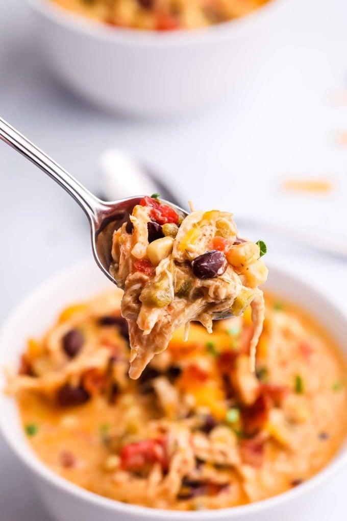 spoonful of crack chicken creamy chili
