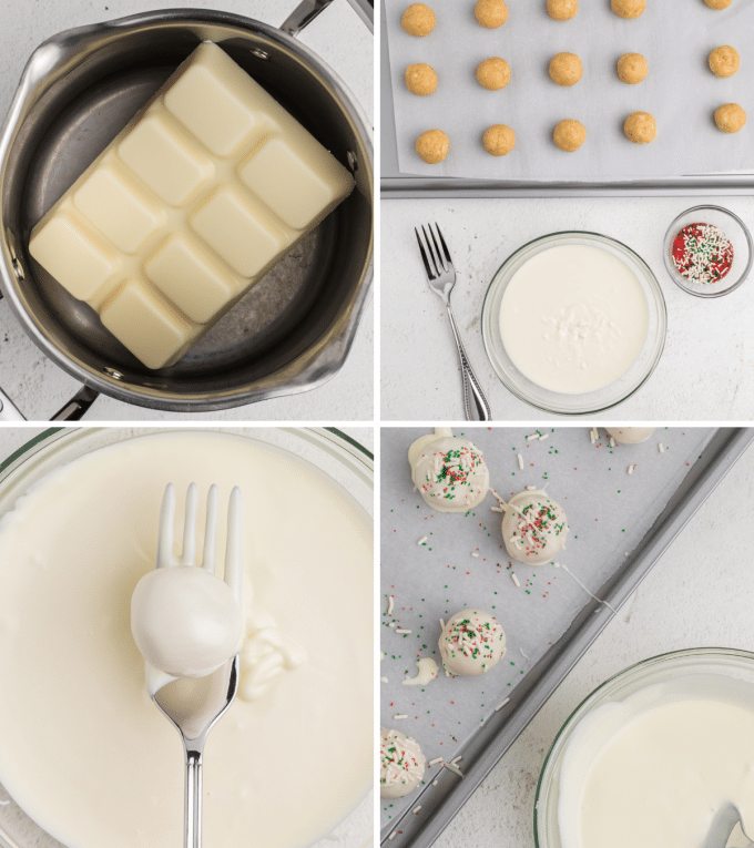 step by step how to make truffles