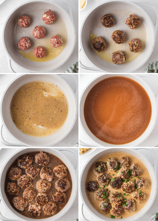 step by step how to make swedish meatballs