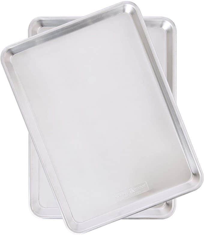 half sheet baking sheet set