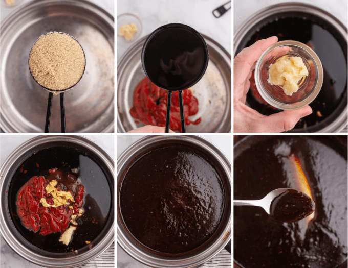 step by step how to make homemade bbq sauce