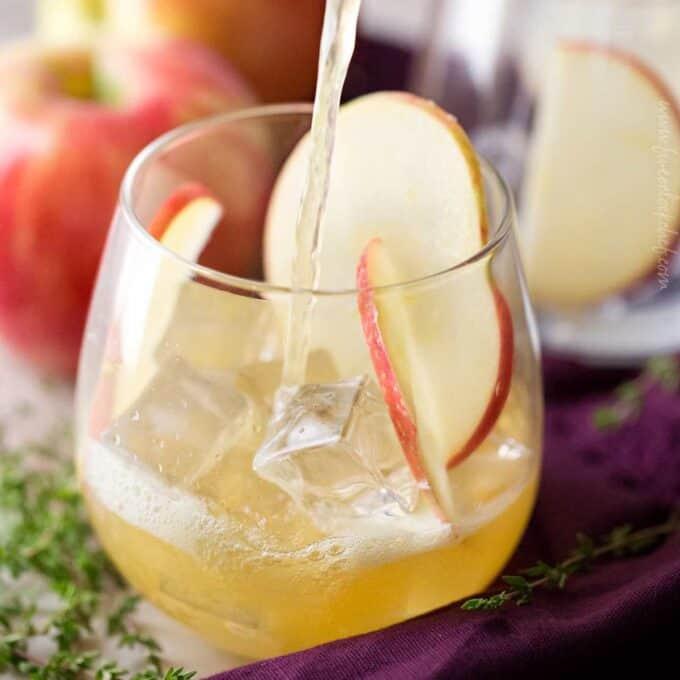 bourbon apple cocktail
