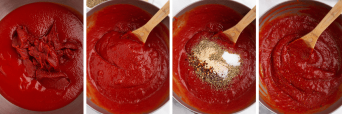 step by step how to make pizza sauce