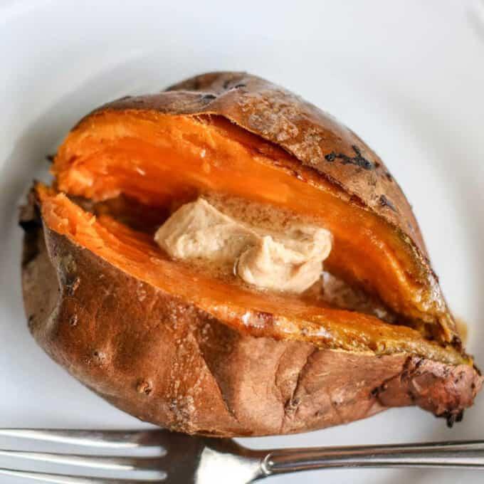 air fryer sweet potatoes