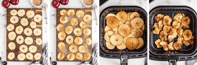 step by step how to make apple chips